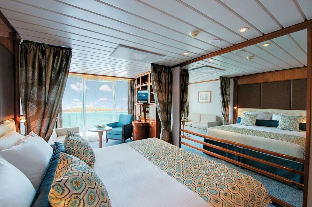 Bed in stateroom - New for 2017